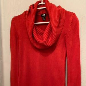 H&M Cowl Neck Sweater Dress